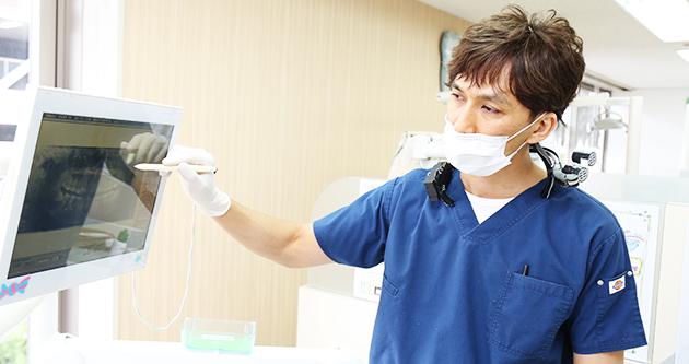 歯周病治療の説明