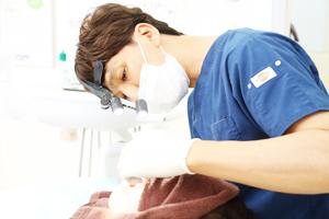 インプラント前のむし歯治療